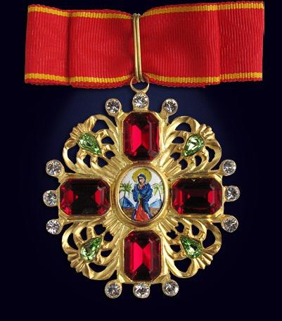 Орден святой Анны 1-ой степени со стразами