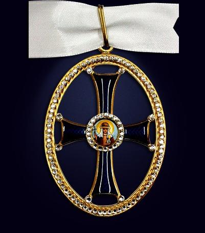 Орден святой Ольги 1-ой степени со стразами
