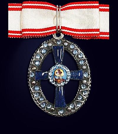 Орден княгини Ольги 3-ей степени со стразами