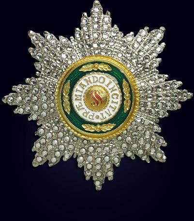 Звезда ордена св. Станислава со стразами