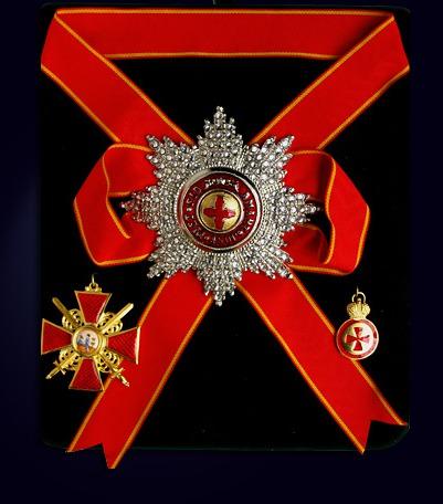 Набор орденов святой Анны