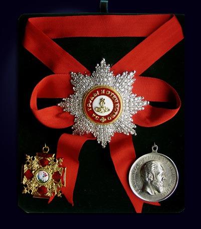 Набор орденов святого Александра Невского