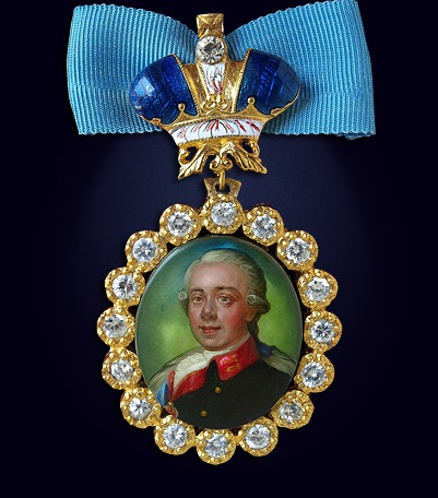 Наградной портрет императора Павла I