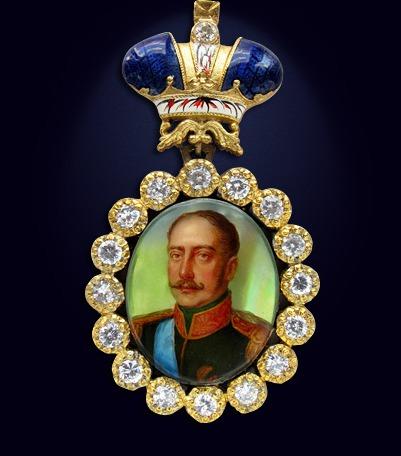 Наградной портрет императора Николая I