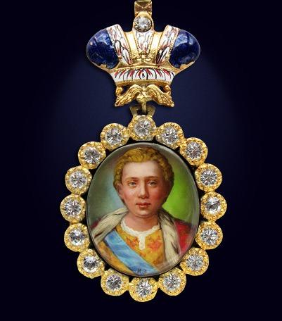 Наградной портрет императора Иоанна VI