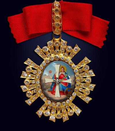 Орден святой Екатерины 1-ой степени со стразами