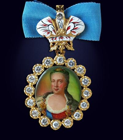 Наградной портрет императрицы Екатерины II Алексеевны