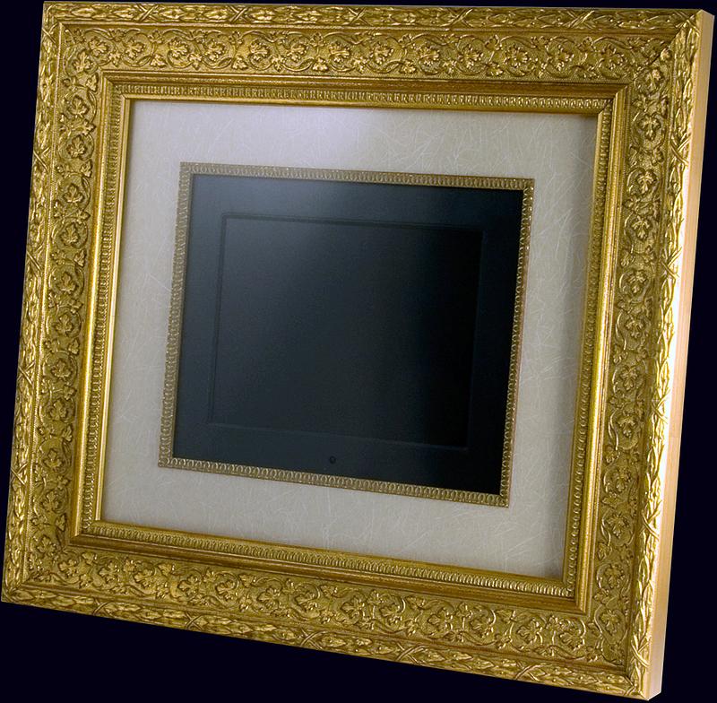 Фотопанель «Garden Gold» с ЖК-экраном в итальянском багете