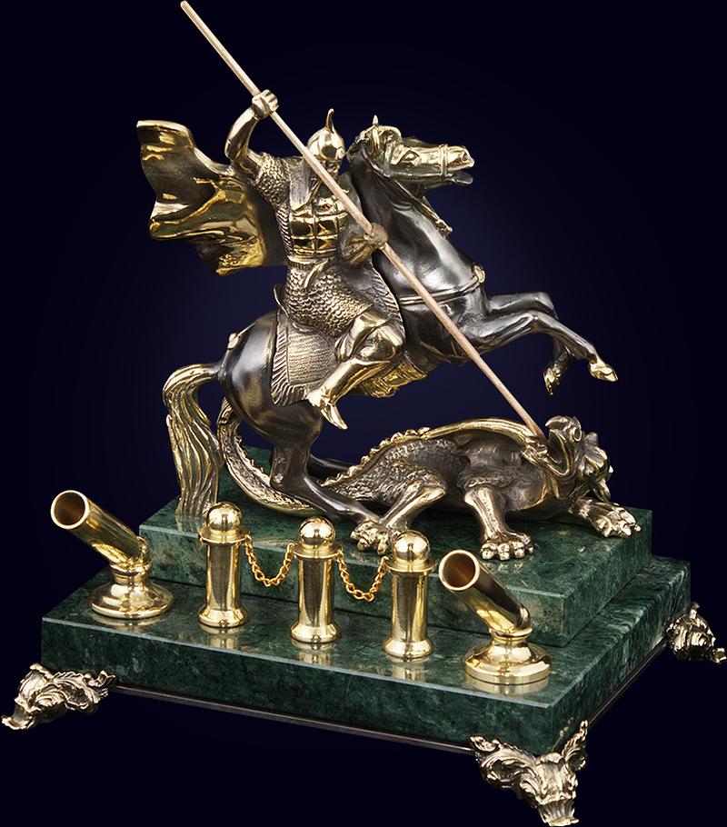 Письменный прибор «Георгий Победоносец»