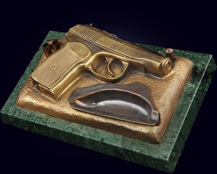 Пепельница «Пистолет»
