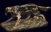 Скульптура «Охотничья собака»