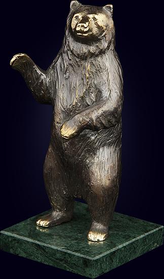 Декоративная скульптура «Медведь»