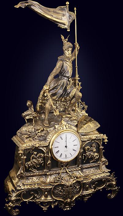 Часы каминные «Крестоносец»