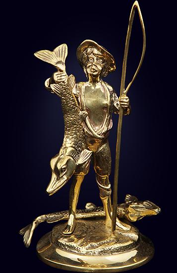 Статуэтка «Рыбак»