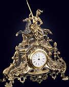 Часы каминные «Богиня мира и войны»