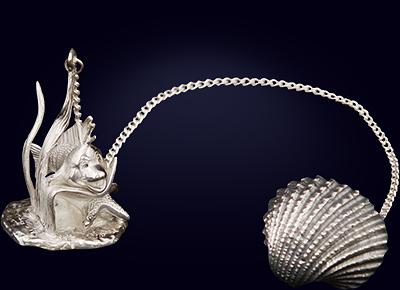Серебряный ионизатор для воды «Флаудер»