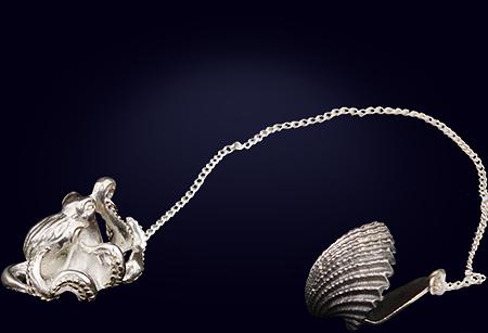 Серебряный ионизатор для воды «Осьминог»