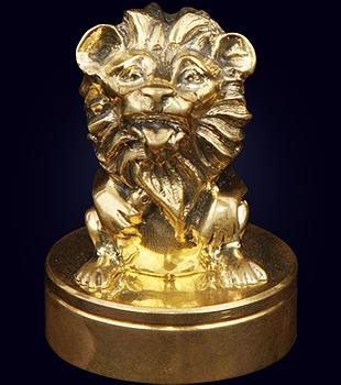 Декоративная ручка для печати «Львенок»