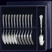 Десертный набор «Фаворит» из 12 предметов (ложки и вилки)