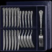 Столовый набор «Фаворит» из 12-ти предметов (вилки и ножи)