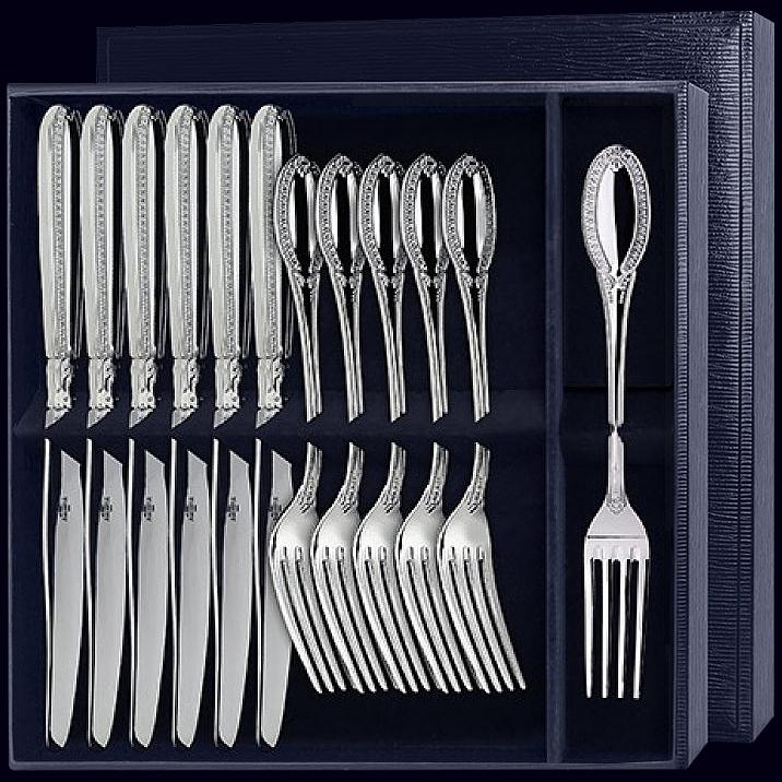 Столовый набор «Император» из 12-ти предметов (вилки и ножи)