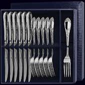Столовый набор «Престиж» из 12-ти предметов (вилки и ножи)