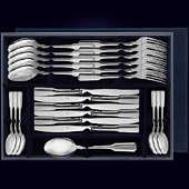 Набор столового серебра «Русский» из 24 предметов
