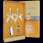 Серебряный десертный набор «Фаворит»