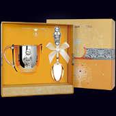 Набор детского серебра «Мальчик» (ложка+кружка)
