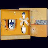 Набор детского серебра «Принц» из кружки и ложки