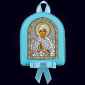 Икона детская «Св. Матрона Московская» для мальчика