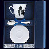 Набор фарфоровый кофейный «Гость»