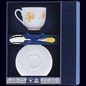 Набор фарфоровый чайный «Жёлтые цветы»
