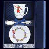 Набор фарфоровый чайный «Балет Щелкунчик»