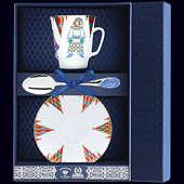 Набор фарфоровый чайный «Балет Петрушка»