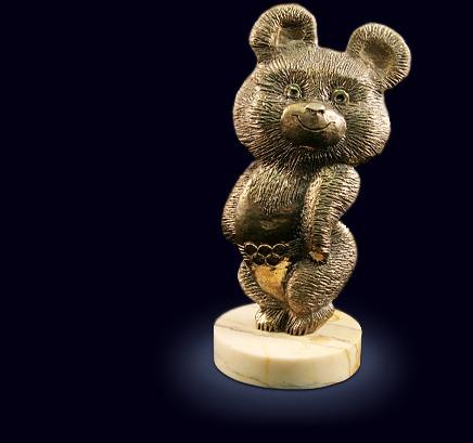 Сувенир «Олимпийский мишка»