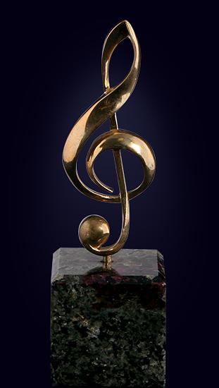 Статуэтка «Скрипичный ключ»