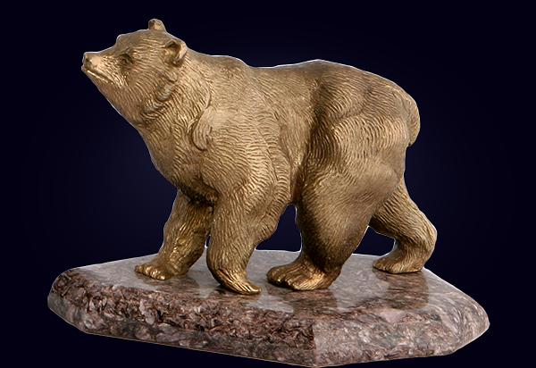 Фигурка «Бурый медведь»