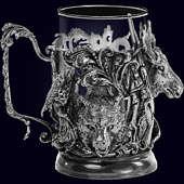 Подстаканник «Трофейный» из латуни