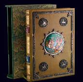Книга «Слово о полку Игореве» в переплёте с палехской миниатюрой, серебром и самоцветами
