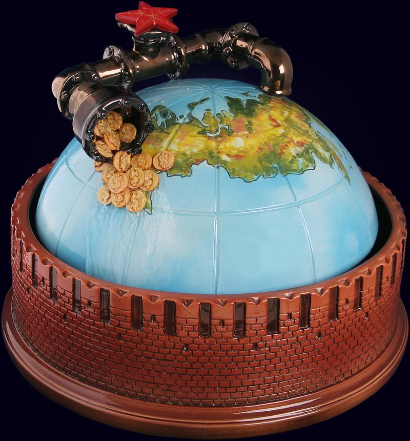 Сувенир «Нефтяная труба»
