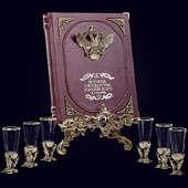Книга «История Государства Российского в наборе с лафитниками Мифология»