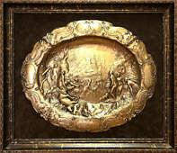 Копия блюда «Диана в купании и Актеон»
