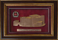 Плакетка «Здание ГРУ»