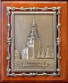 Плакетка «Спасская башня» в подарочной упаковке