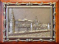 Плакетка с видом Москвы «Кремлёвская набережная» в подарочной упаковке