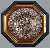 Плакетка «Герб Москвы» (тарелка)