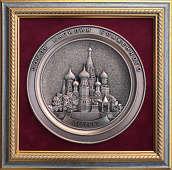 Плакетка «Собор Василия Блаженного»