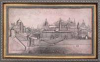 Картина «Виды Москвы»