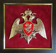 Плакетка «Эмблема Национальной Гвардии»